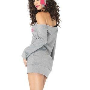 Leg Avenue Flashdance Sexy Sweatshirt Dress